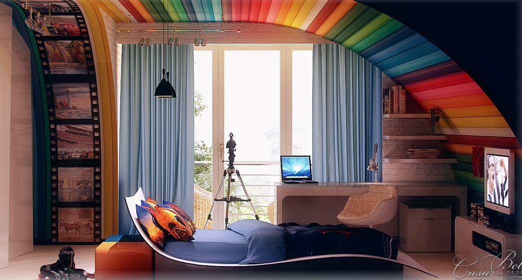 Colorful kids rooms - Colors for kids room ...