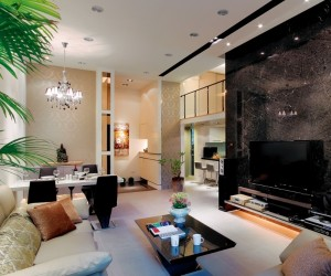 Sophisticated living room