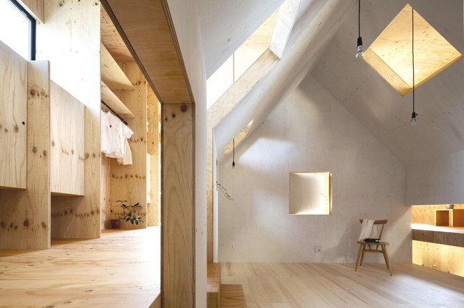 Timber interior design