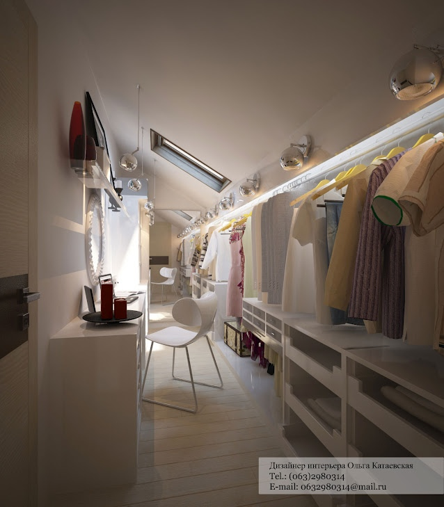 Walk in closet