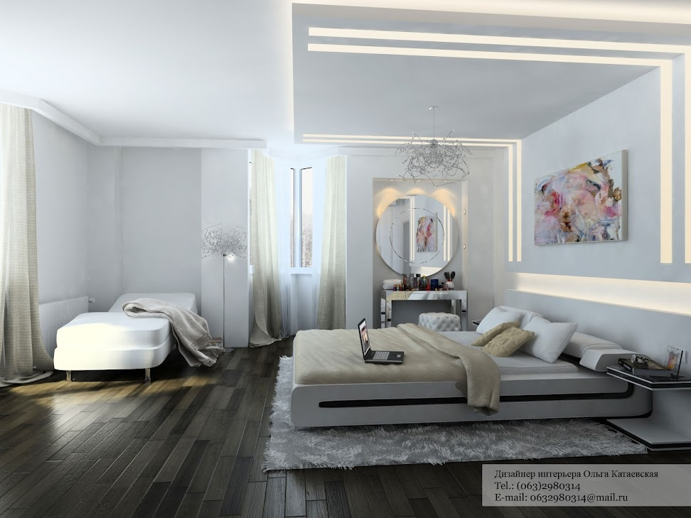 A Cluster of Creative Home Design White bedroom design – Interior ...