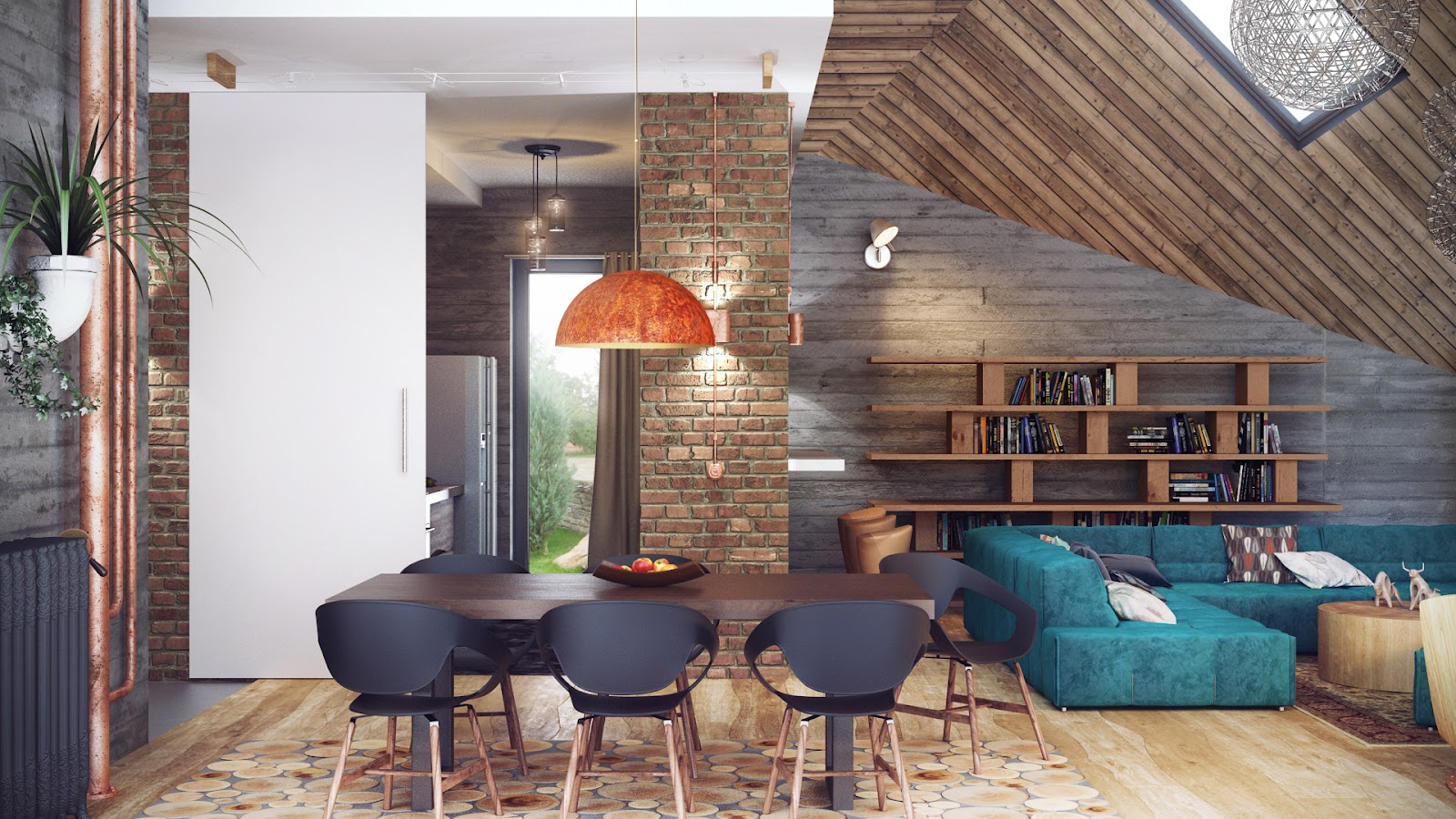 Industrial lofts - Decoracion industrial vintage ...