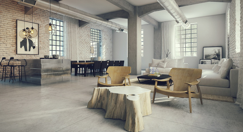 industrial lofts ForHow To Design A Loft