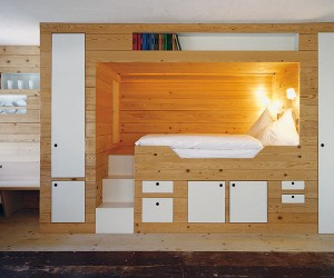 Cabin bed storage