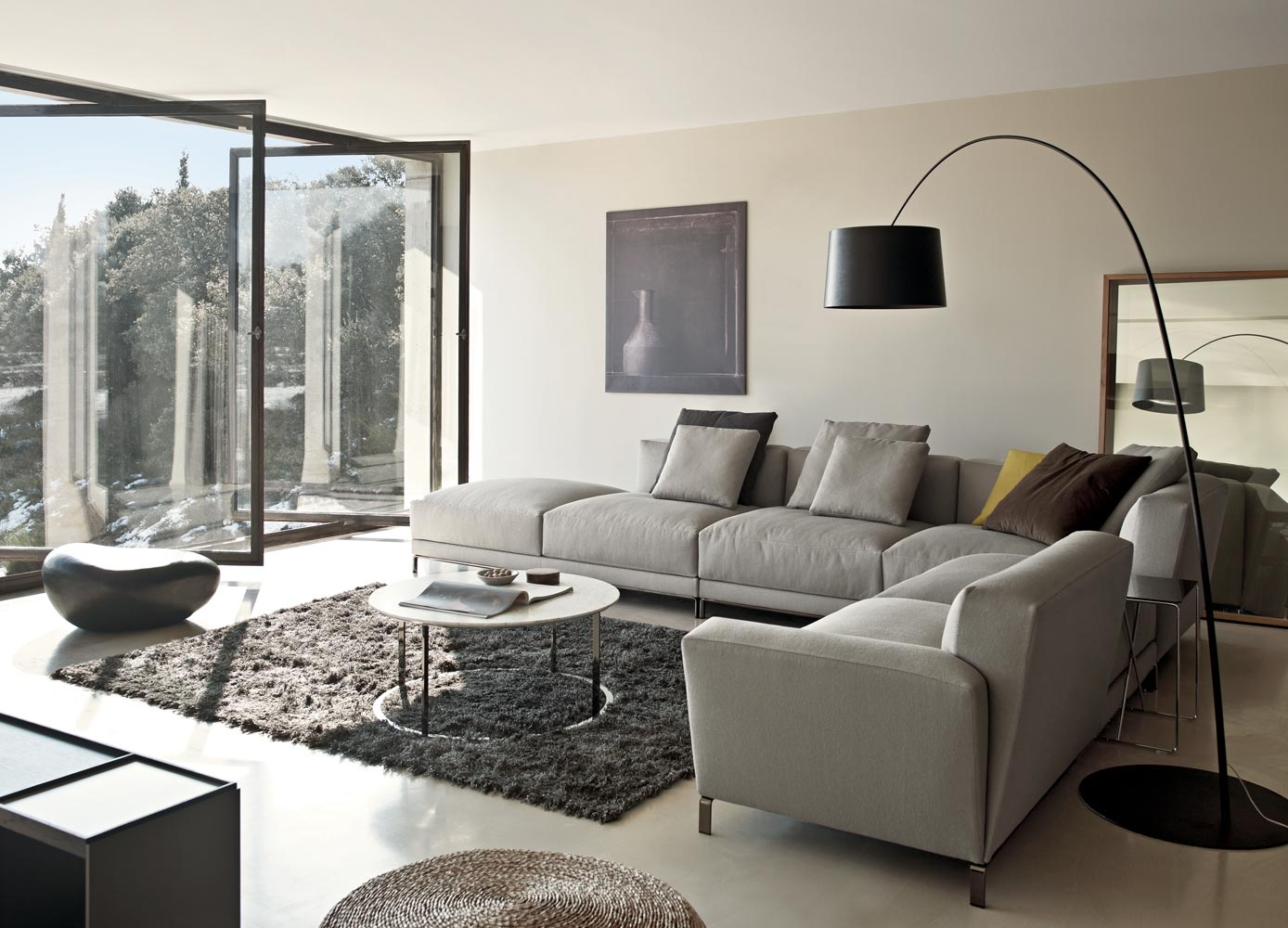 couch wohnzimmer:Grey Sectional Sofa Living Room Ideas