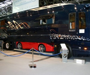 Dubbed the world&#039;s ultimate camper van, the 40ft long rolling home is something a touring rockstar would be proud of, and has certainly wowed the crowds at the Caravan Salon in Dusseldorf, Germany.