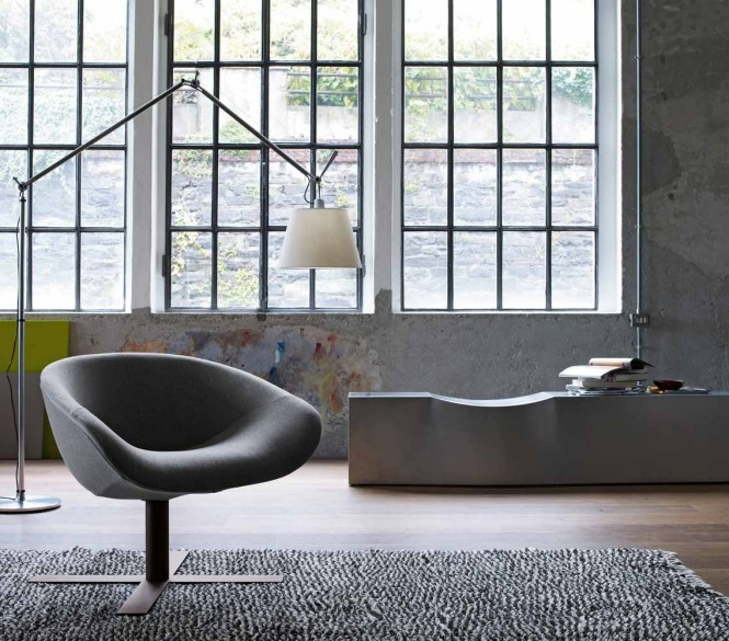 Modern gray chair