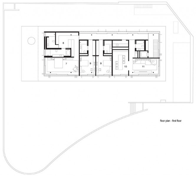 Modern home plan