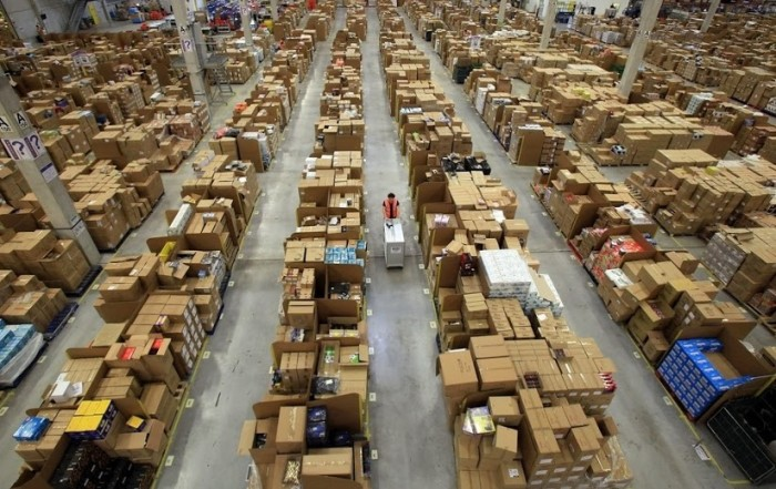 amazon warehouse design