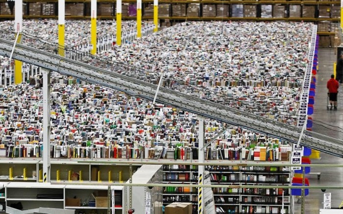 inside amazon