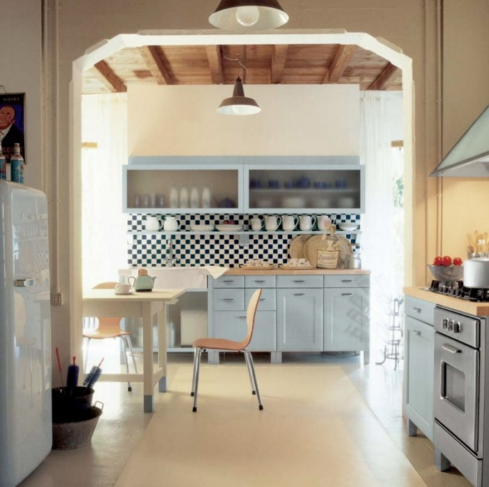 Arched doorways for Country style kitchen b q