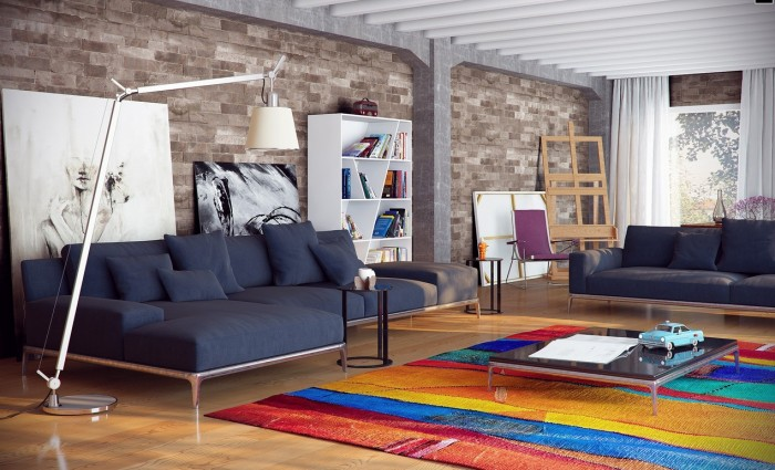 city loft decor ideas