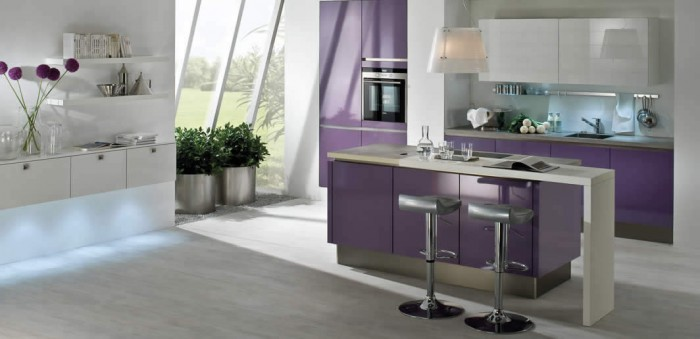 feminine kitchen