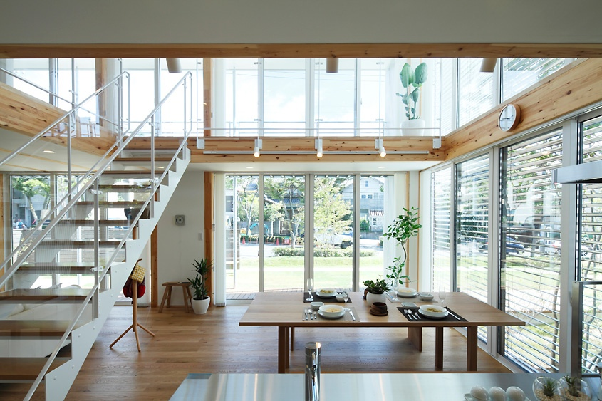 Japanese style interior design for Japanese minimalist house design
