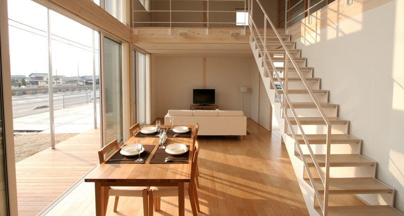 Sliding Doors Allow The Exterior And Interior Of This Japanese City Loft To  Organically Meld One