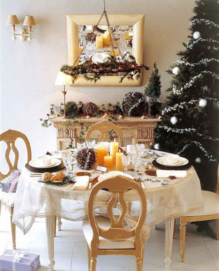 natural christmas decor