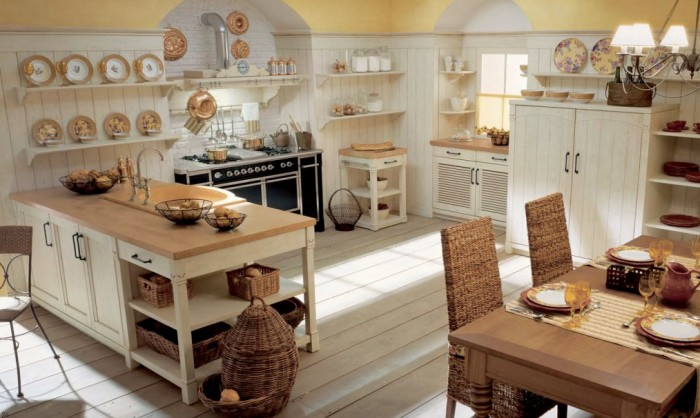 Minacciolo Country Kitchens with Italian Style: Interior Design ...
