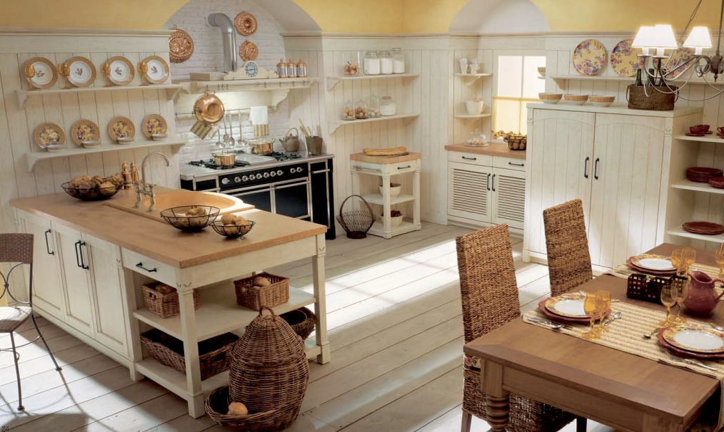 English Country Kitchen Design Ideas ~ Minacciolo country kitchens with italian style