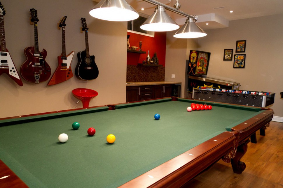 30 basement remodeling ideas inspiration for Game room design ideas