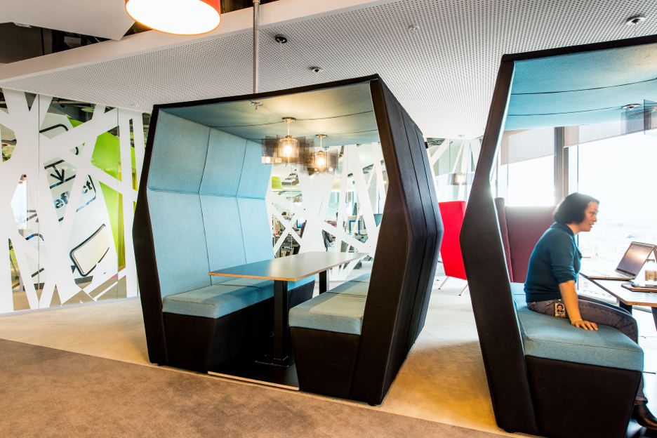 Google 39 s new office in dublin for Spaces and places