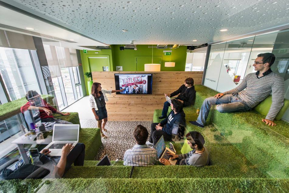 Google 39 s new office in dublin naver - Google home design ...