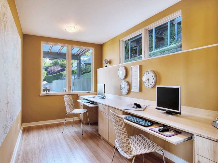 home office space basement ideas