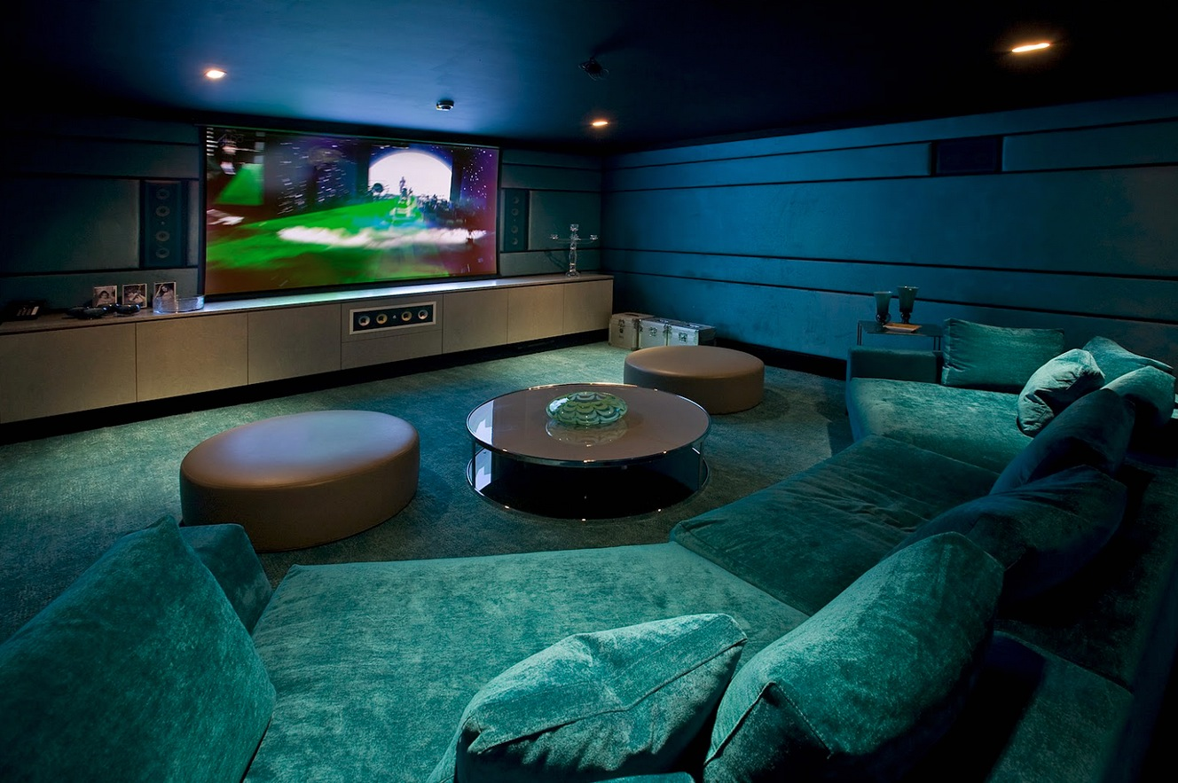 Basement Theater Room Ideas