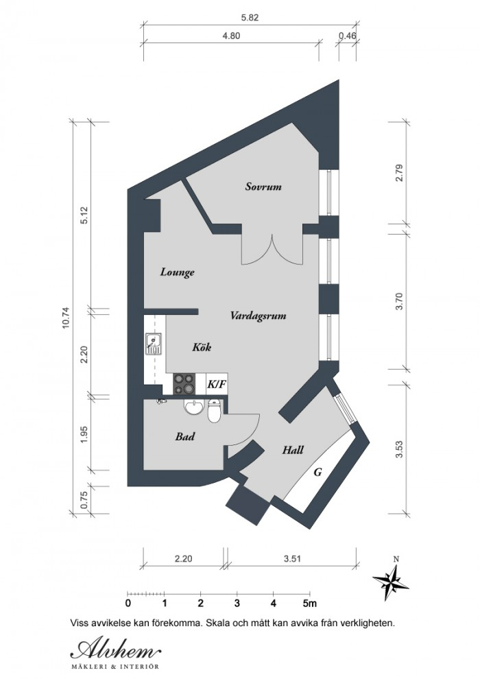 swedish apartment floor plan