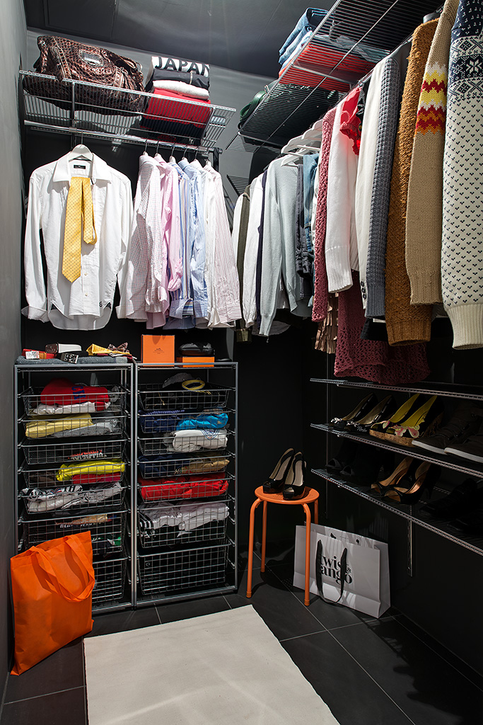 walk in closet configuration