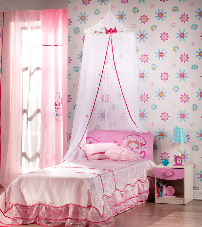 2 little girls bedroom 4 for Beautiful room design for girl