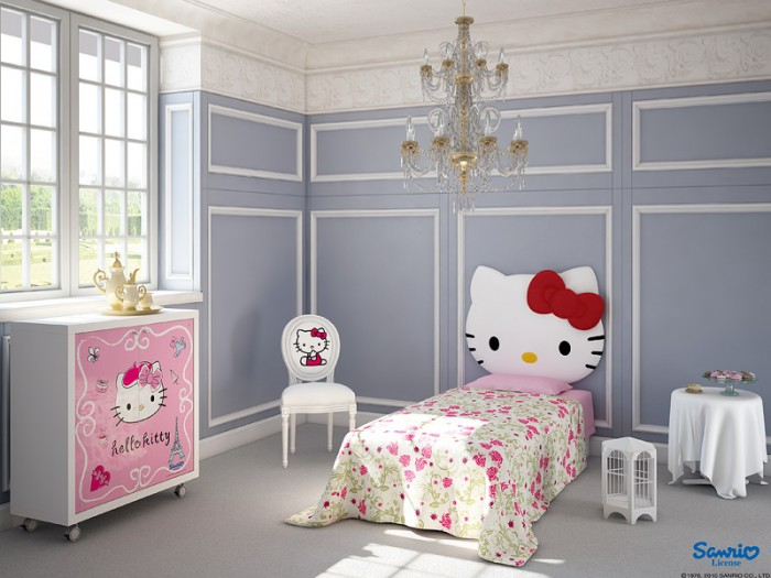 Little Kitty has been a favorite character for little and big girls rooms for years and doesn&#039;t appear to be going anywhere.