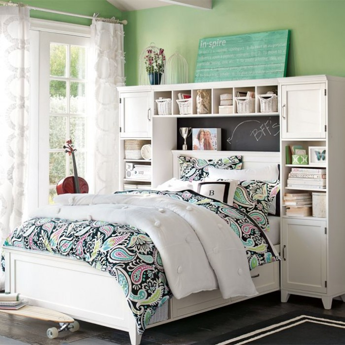 Tween room ideas on pinterest tween girl bedroom for Girls bedroom decorating ideas with bunk beds