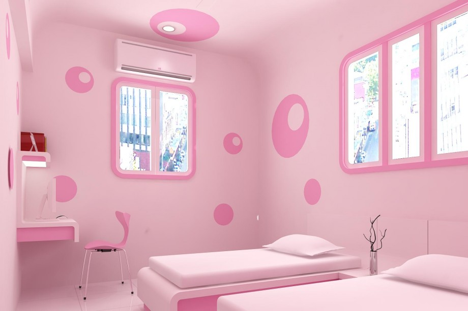 Pink Wall Paint bedroom colors pink | shoe800