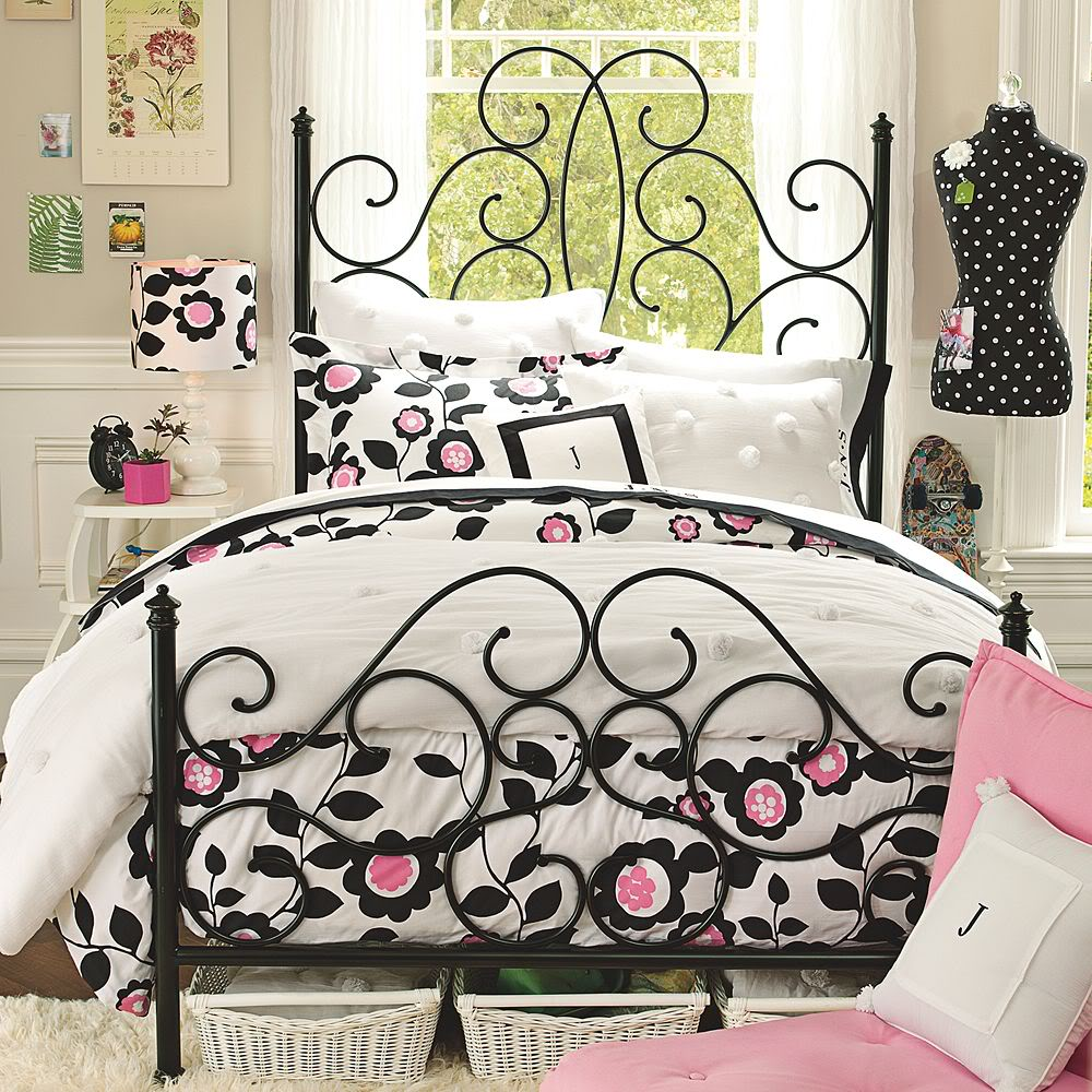 Black and pink bed sheets - 70 Best Images About Bedroom Ideas On Pinterest Romantic Shabby And Metal Beds