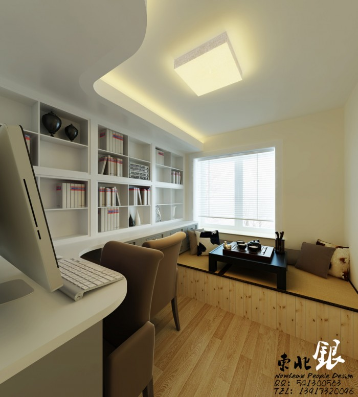 chinese style home office