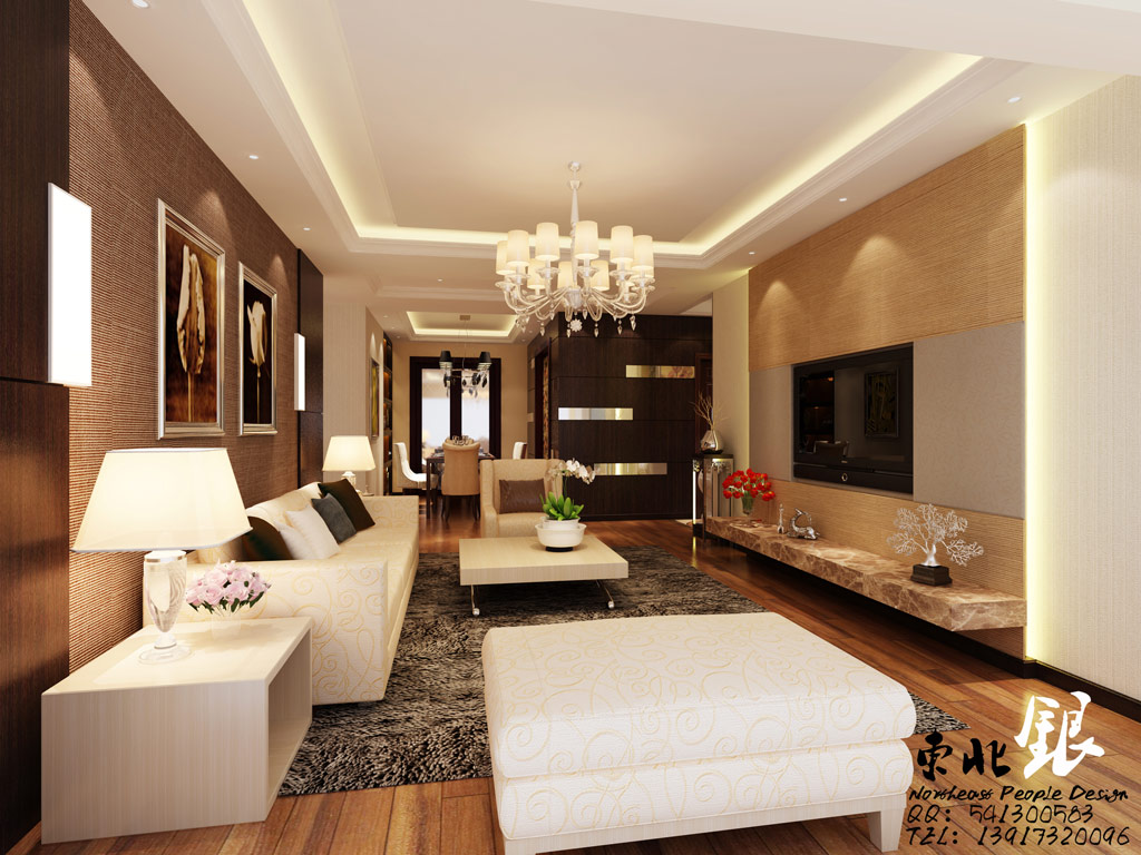 Classy Living Room Designs love the black units either side of