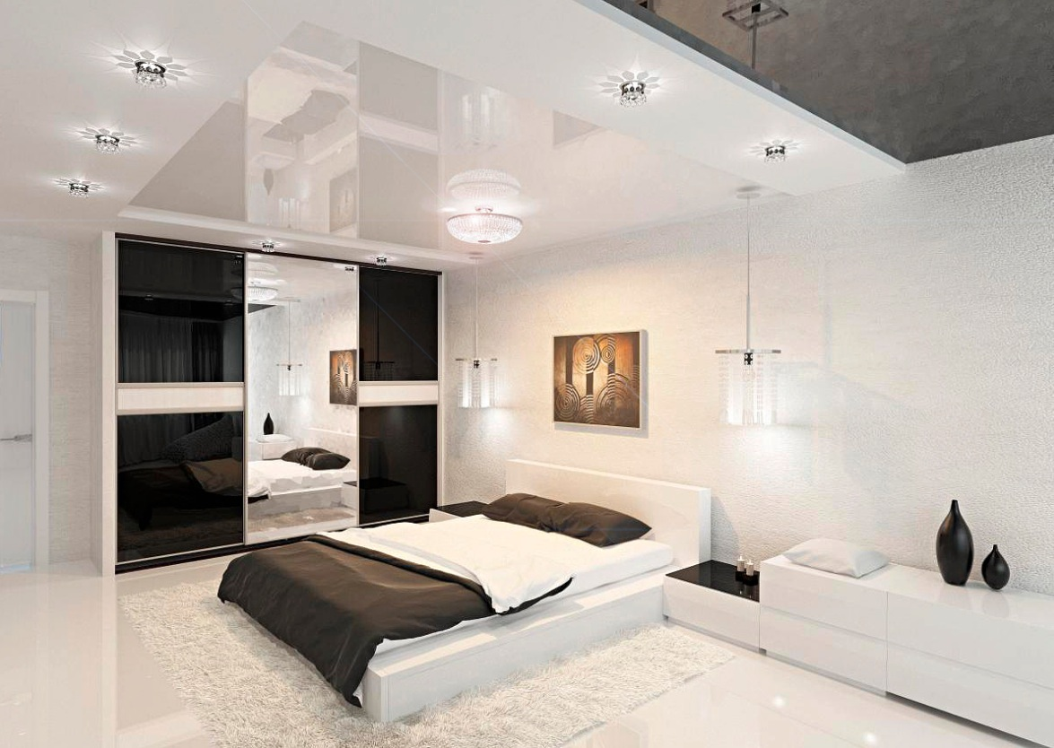 Modern bedroom ideas for Black room design