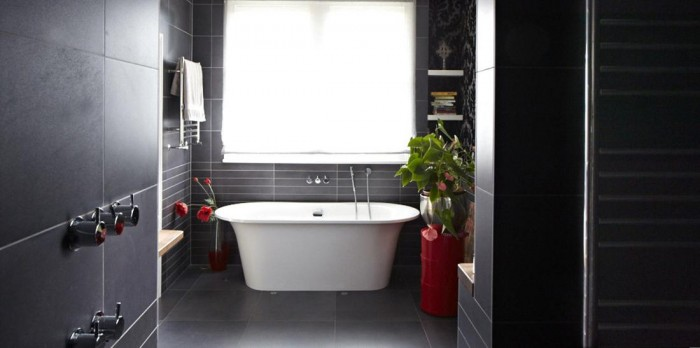 modern victorian home bathroom