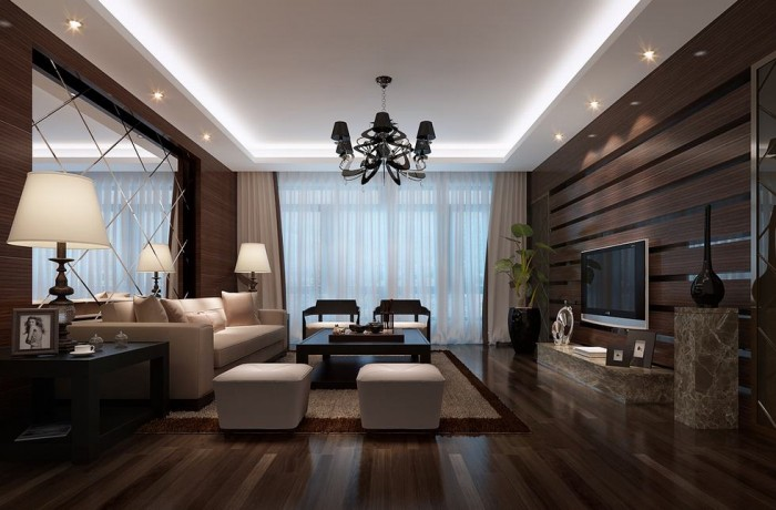 segmented mirrored luxury living china