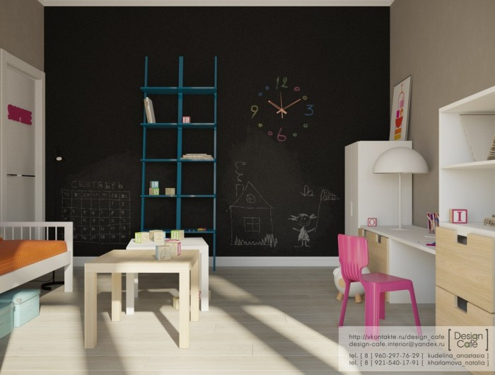 young family apartment bedroom childs