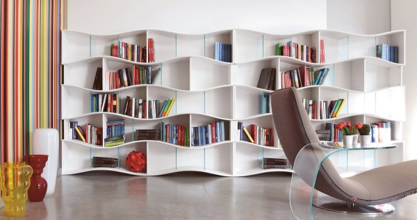 Angelo Tomaiuolo- Onda book shelves