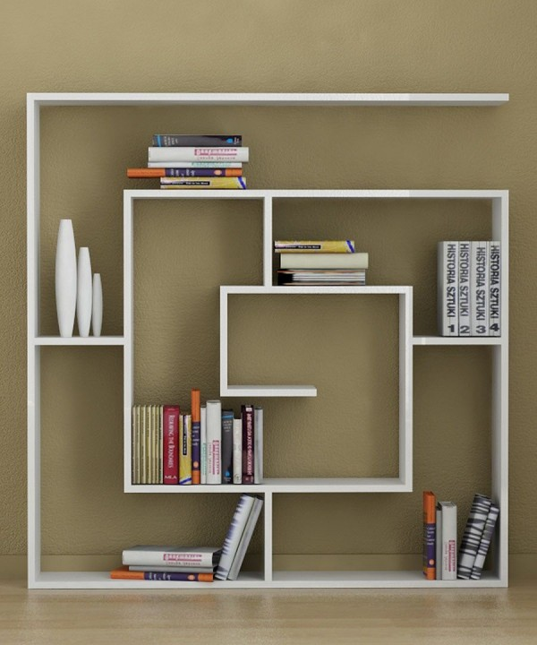 Decortie- square book storage display