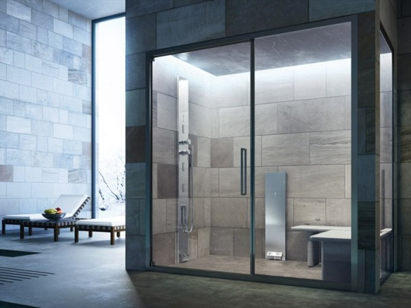 Glass- Noor Steam Shower enclosure steam cabin