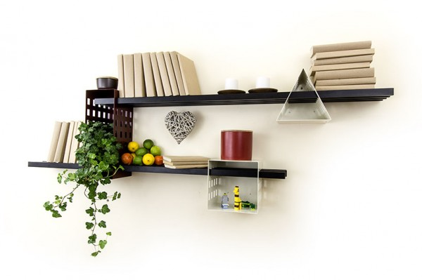 Matteo Gerbi- geometric stays book shelving
