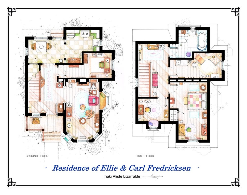 up house floor plan up house floor plan continue reading