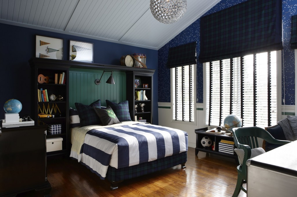 http://www.home-designing.com/wp-content/uploads/2013/03/blue-and-white-striped-boys-room-with-silver-accents.jpeg