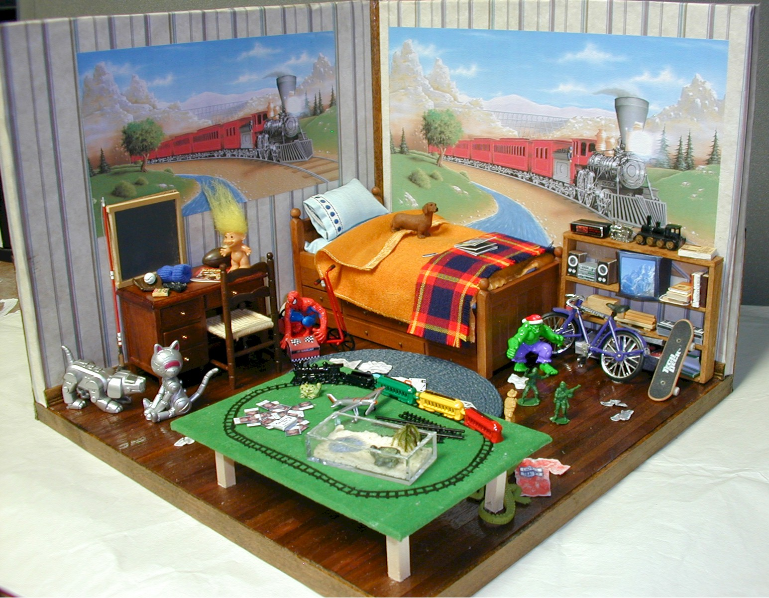 Train For Room Decoration For Kids Room : Like Architecture & Interior Design? Follow Us...