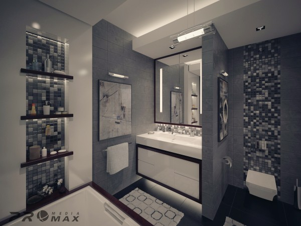 modern apartment 1 bathroom 2