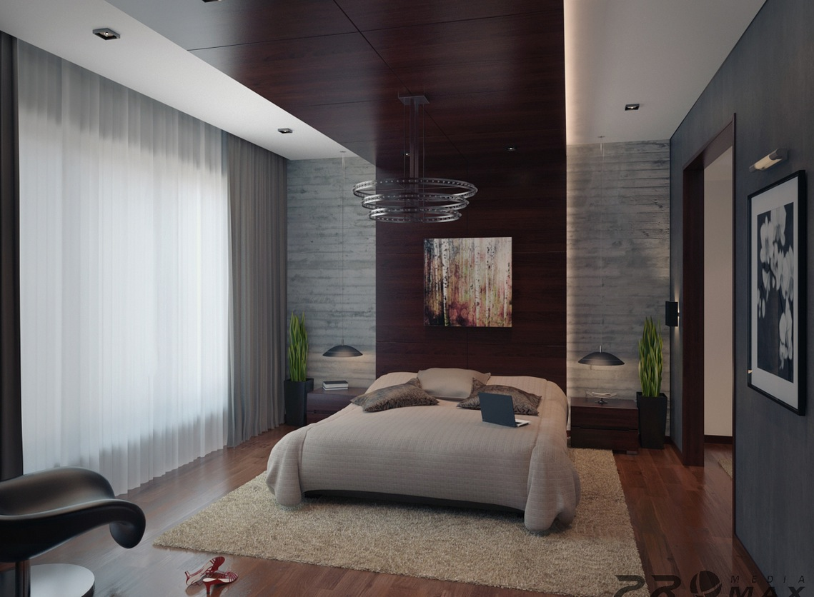 Three modern apartments a trio of stunning spaces for Modern bedroom