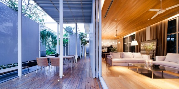 Bangkok House With A Unique Take On Privacy modern house exterior ...
